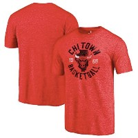 Chicago Bulls Fanatics Branded Hometown Collection Ball Tri-Blend T-Shirt メンズ Red NBA Tシャツ シカゴ ブルズ