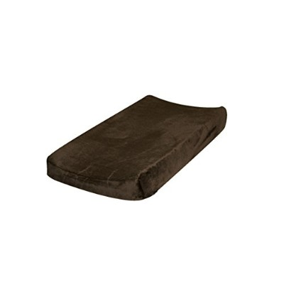 Go Mama Go Designs Changing Pad Cover, Brown by Go Mama Go