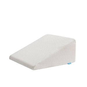 AlveoウェッジメモリーフォームBack /ネックPain Relief Pillow with a取り外し可能ポリエステル枕ケースSized 24 x 24 x 12インチ One Size...