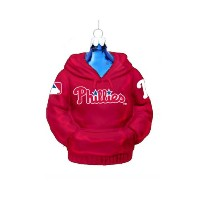 Kurt Adler 4-1/2-Inch Philadelphia Phillies Glass Hoodie Sweatshirt Ornament by Philadelphia...