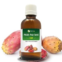PRICKLY PEAR SEED OIL(OPUNTIA FICUS-INDICA)100%NATURAL PURE CARRIER OIL 100ML