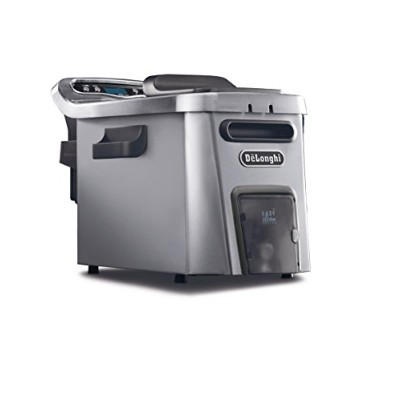 DeLonghi America D44528DZ Livenza Easy Clean Deep Fryer, Silver by DeLonghi