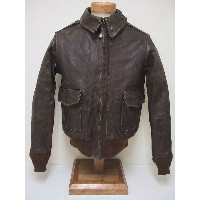 Buzz Rickson's[バズリクソンズ] A-2 WORN OUT FRICTION PROCESS BR80163 (S/BROWN) 送料無料 代引き手数料無料 【RCP】