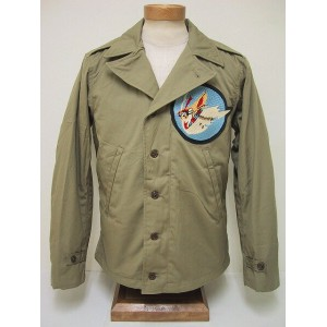 BuzzRickson's[バズリクソンズ] M-41 314th FTR. SQ. The Hawks (KHAKI)