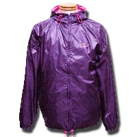 Athletic Nylon Parka パープル×ピンク one by one clothing