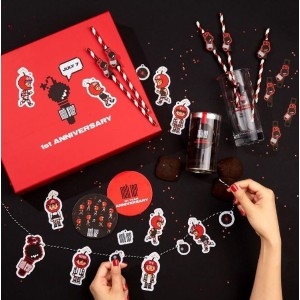 SM TOWN COEX Artium Sum Cafe NCT127 1st Year Anniversary Official Party Set