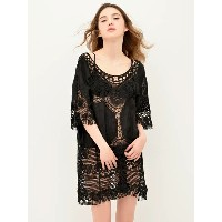 [CARRIEFRANCA]Lace knit onepiece ルームウェア 上下セット セットアップ トップス ボトム 可愛い レディース パジャマ 部屋着 大きいサイズ 女性 大人