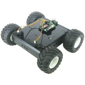 Lynxmotion A4WD1自律ローバーキット - BotBoarduino
