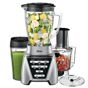 Oster Pro 1200 Blender 2-in-1 with Food Processor Attachment and XL Personal Blending Cup by Oster