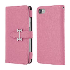 Highend berry iPhone7 手帳型 ケース アイフォン7 H DIARY CASE ピンク