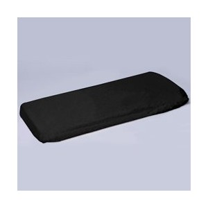Crib & Toddler Poly/Cotton Sheet - Color: Black - Fitted by BabyDoll Bedding