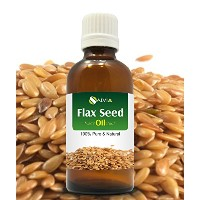 FLAX SEED OIL 100% NATURAL PURE UNDILUTED UNCUT CARRIER OIL 100ML