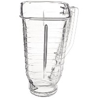 Oster 089 Plastic Blender Jar Part Accessory, Clear, Square by Oster