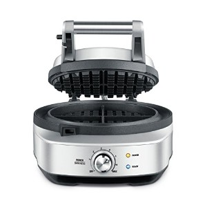 Breville BWM520XL The No Mess Waffle Maker, Silver by Breville