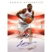 【ルオル デング】2004/05 SP Authentic Rookie Autograph 999枚限定! /Luol Deng