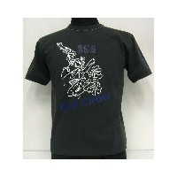 【40%OFF!】THE FEW(フュー)MILITARY Tee[OLD CROW BUD ANDERSON]【在庫処分品/返品・交換不可】BLK /ミリタリー/半袖Tシャツ!