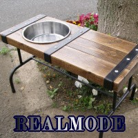 REALMODE STEELBELT Series ドッグベンチ dogbench600