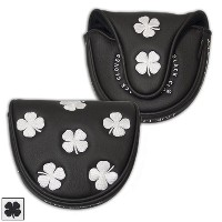 Black Clover All Over Clover Mallet Putter Cover【ゴルフ アクセサリー>ヘッドカバー】