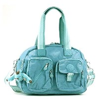 キプリング バッグ ハンドバッグ KIPLING DEFEA K13636 MEDIUM SHOULDERBAG WITH REMOVABLE SHOULDERSTR 50W PASTEL BLUE...