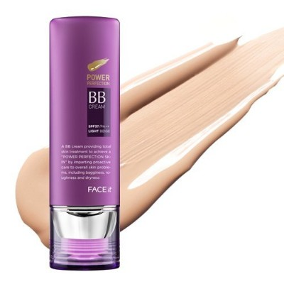 The Face Shop ザ・フェースショップ フォース・イット・パワー・パーペクト・ビービー・クリーム 02 ナチュラルベージュー (Face It Power Perfection BB...