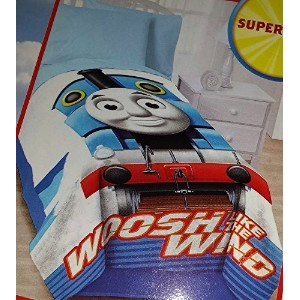 Thomas Micro Raschel Blanket Oversized - 62in x 90in by Thomas & Friends