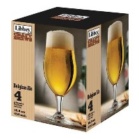 Libbey Belgian Ale Crafted Brewガラス4Pieceセット–- 2セットperケース。