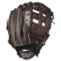 ルイスビルスラッガー レディース 野球 グローブ【Louisville Slugger LXT Dual Post Web Fastpitch Glove】Dark Brown