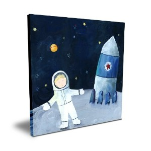 Cici Art Factory 16x 16 Man on the Moon by Cici Art Factory