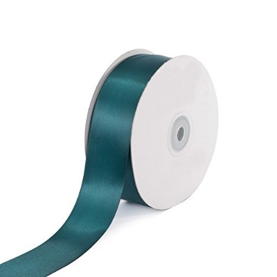 Creative Ideas Solid Satin Ribbon, 1-1/2-Inch by 50 Yard, Hunter Green, Solid by Creative Ideas
