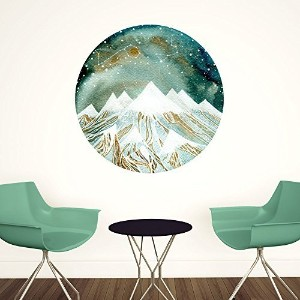 My Wonderful Walls Summer Starlight Wall Decal Zodiac Art by Elise Mahan, Medium, Multicolored by...