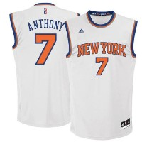 Carmelo Anthony New York Knicks adidas Replica Road Jersey メンズ White NBA レプリカ ジャージ アディダス ユニフォーム...
