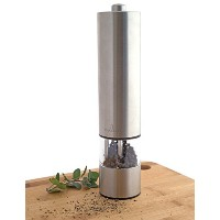 Culina Electric Pepper Mill, Stainless Steel