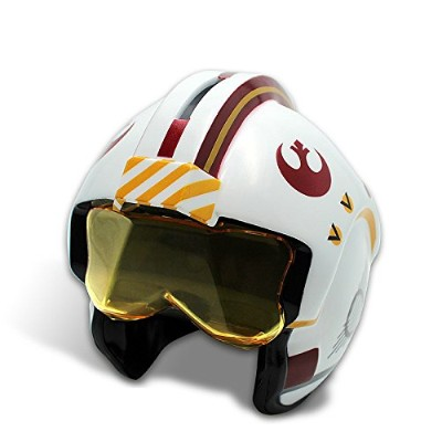 Star Wars Piggy Bank X-Wing Pilot Helmet Luke Skywalker