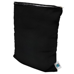Planet Wise Wet Diaper Bag, Black, Medium by Planet Wise