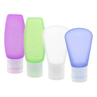 GikPal Travel Toiletry Bottles Set, Silicone Leak Proof Travel Tube Accessories Containers for...