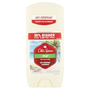 Old Spice Fresher Collection Fiji Scent Mens Deodorant  Anti-Perspirant 3.4 oz