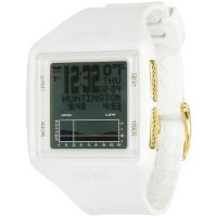 腕時計 ベスタル Vestal Unisex BRGOLD02 Brig Gold Digital Display Quartz White Watch [並行輸入品]