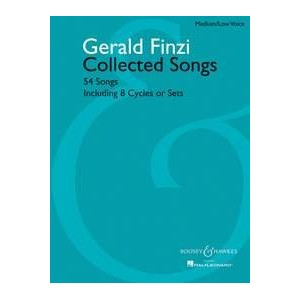 Partition classique SCHOTT FINZI GERALD - COLLECTED SONGS - MEDIUM/LOW VOICE AND PIANO Choeur et...