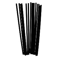 High Quality 5・E ・E x 2.7mm Black Plastic Coffee Stirrer (10 Boxes of 1000)