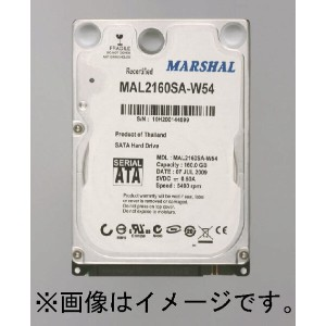 【80GB 7200rpm】2.5HDD S-ATA MAL2080SA-T72 (80GB S-ATA 7200rpm) MARSHAL2.5HDD