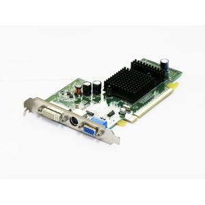 DELL Radeon X300 128MB DVI/VGA/TV-out PCI Express x16 0UC996【中古】【全品送料無料セール中!】