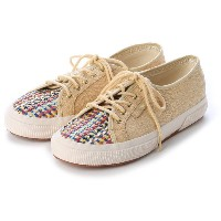 スペルガ SUPERGA CHAPTER SUPERGA x Gala Gonzalez / BRAIDED (905-MULTI NATURAL) レディース
