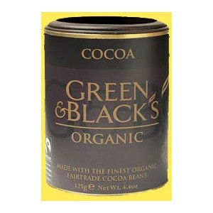 Green and Blacks Cocoa - Organic Fair Trade 100% cocoa powder by Green & Black