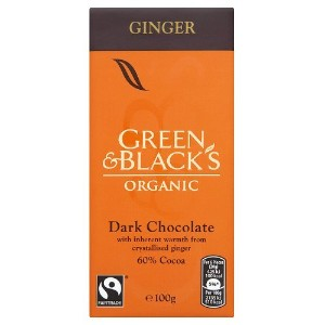 Green & Black's - Ginger Chocolate - 100g
