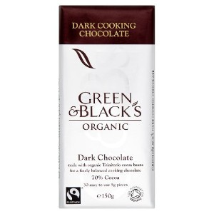 Green & Black's - Dark Cooking Chocolate - 150g