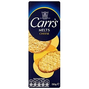 Carr's - Melts - Cheese - 150g