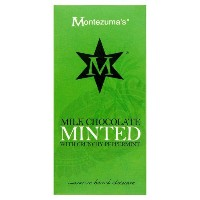 Montezumas Chocolate Minted Bar 100 g (order 12 for retail outer) / Montezumasチョコレートを鋳造バー100グラム...
