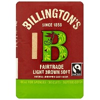 Billingtons Fairtrade Light Soft Brown Sugar 500 g (Pack of 10)