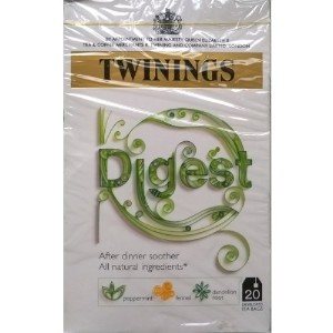 Twinings Digest 20 Enveloped Tea Bags