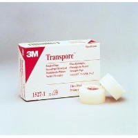 3M Transpore Tape, Transpore Plstc Tape 2 in X10Y, (1 BOX, 6 EACH) by 3M